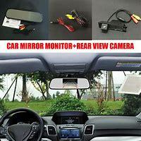 دوربین دنده عقب خودرو + مانیتور آینه ای