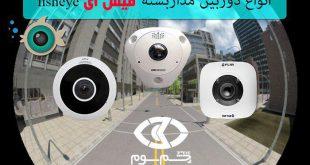 فروش انواع دوربین مداربسته فیش آی به صورت آنلاین